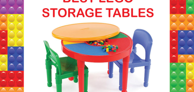 best lego storage tables