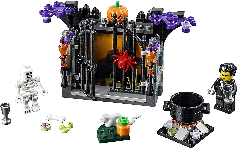 FOXMASK New Rare Halloween 2020 Horror Minifigure Lego MOC VITRUVVIUS ZOMBIE Toy